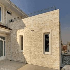 elewacja z kamienia