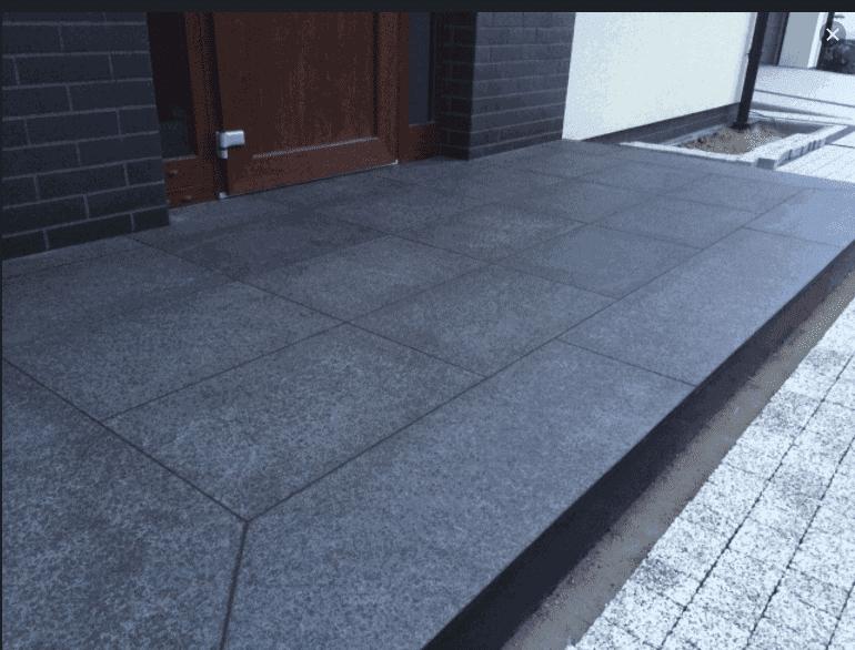 Płytki granitowe na schody